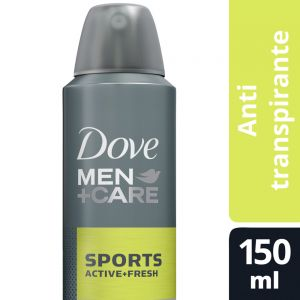 Desodorante Antitranspirante Dove Men Care Sports en Aerosol 150 ml