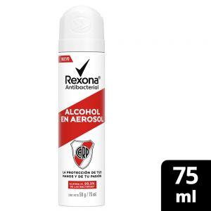 Alcohol en Aerosol Rexona Antibacterial River 75 ml