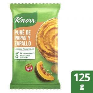 Puré de Papas Knorr Listo Papa y Zapallo 125 gr