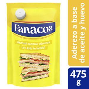 Mayonesa Fanacoa Sin Tacc Doypack 475 gr