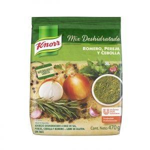 Sazonador Deshidratado Knorr  Romero, Perejil y Cebolla 470 gr