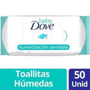 Toallitas Húmedas Baby Dove Humectación Sensible 50 un