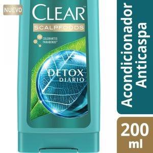 Acondicionador Clear Detox Diaria 200 ml
